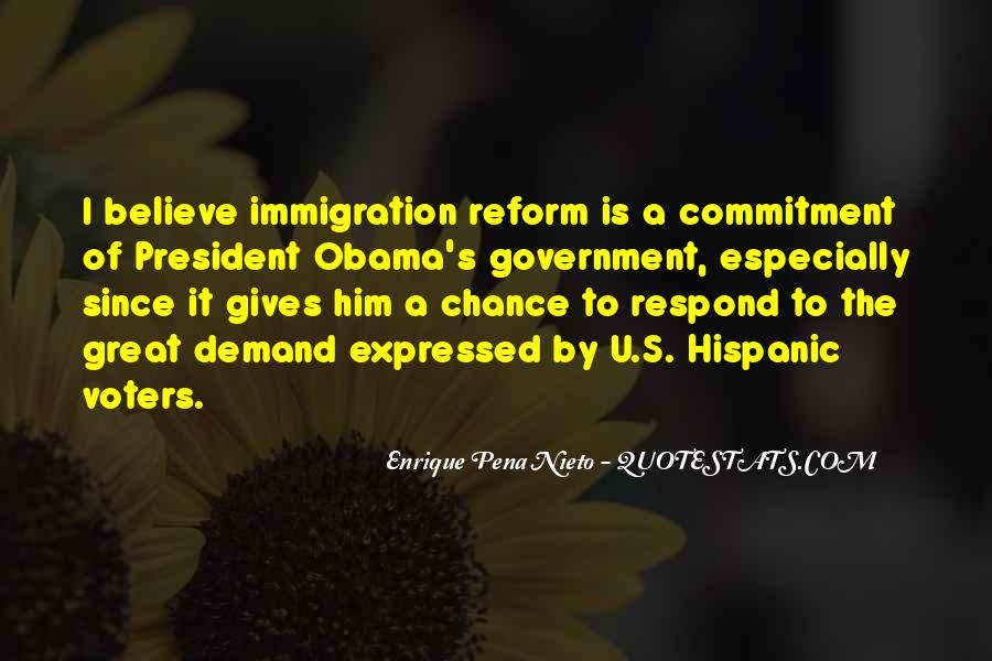 Quotes About Immigration Obama #1576106