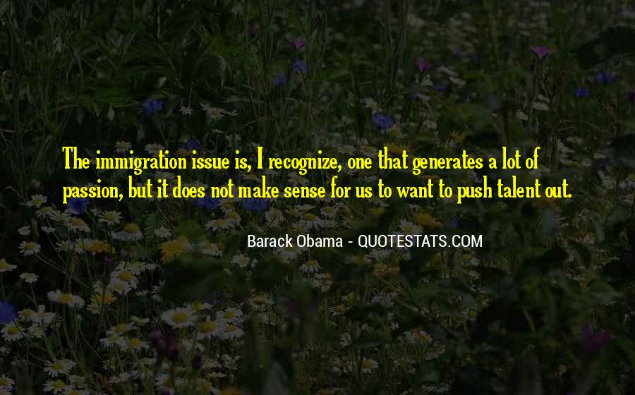 Quotes About Immigration Obama #50920