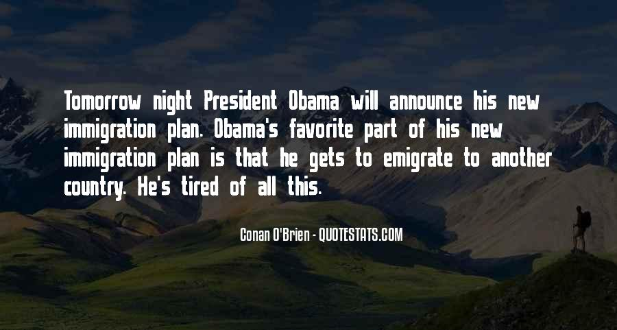 Quotes About Immigration Obama #694401