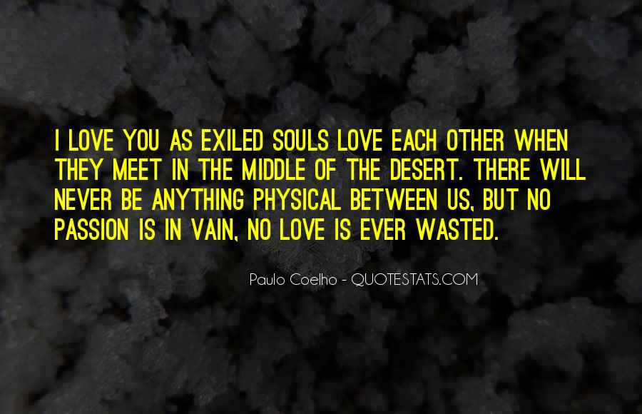 Quotes About Physical Love #117293