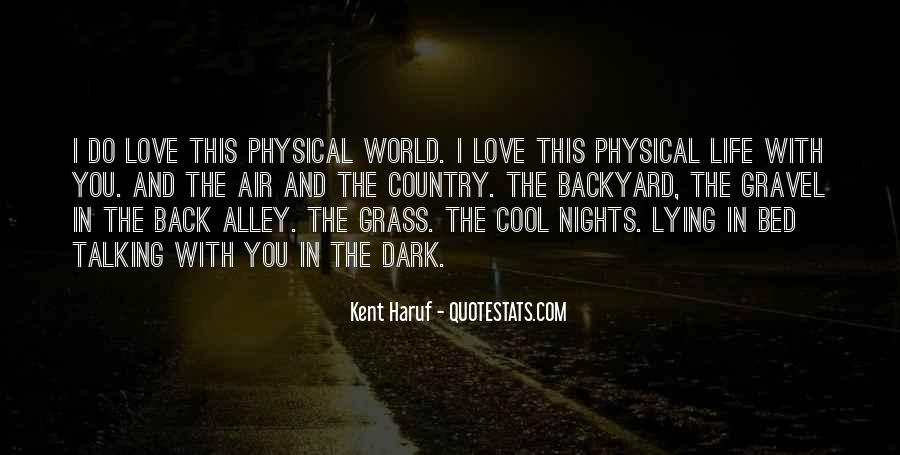 Quotes About Physical Love #235898