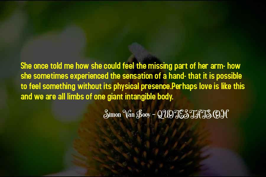 Quotes About Physical Love #52937