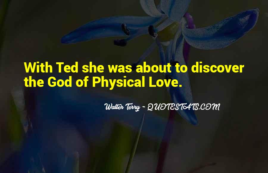 Quotes About Physical Love #82445