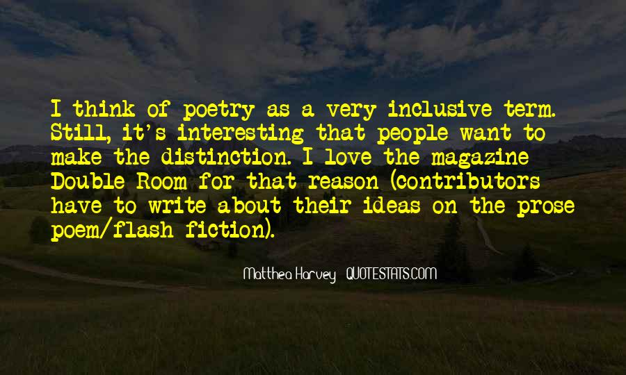 Quotes About Flash Fiction #1476242