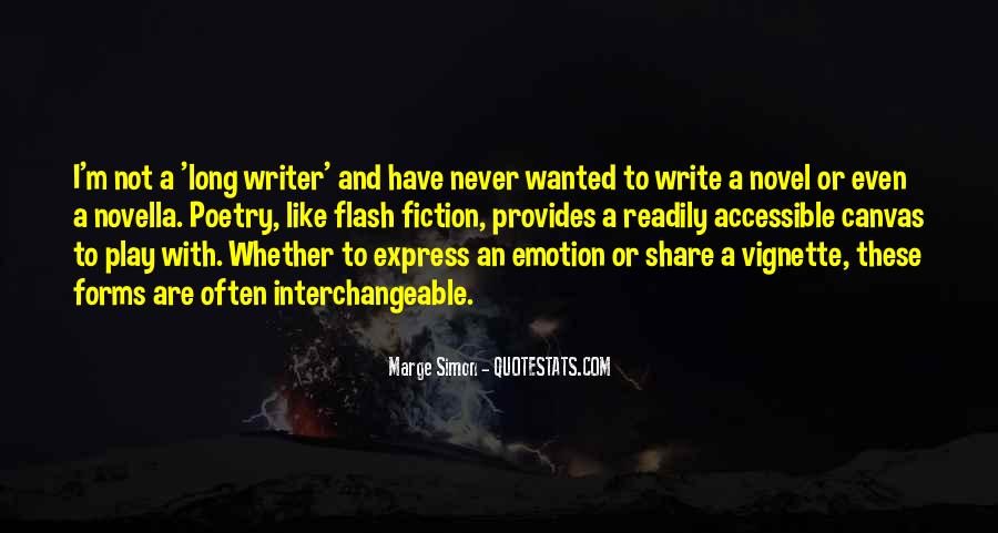 Quotes About Flash Fiction #1511346
