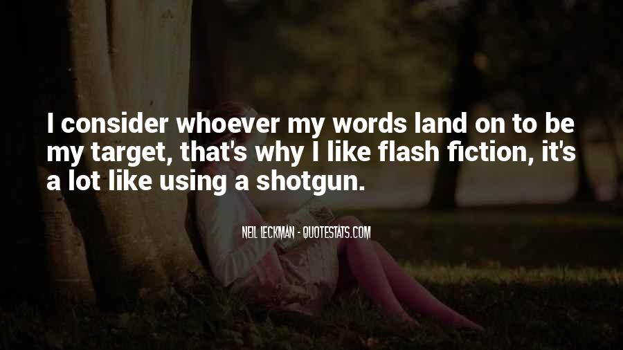 Quotes About Flash Fiction #244047