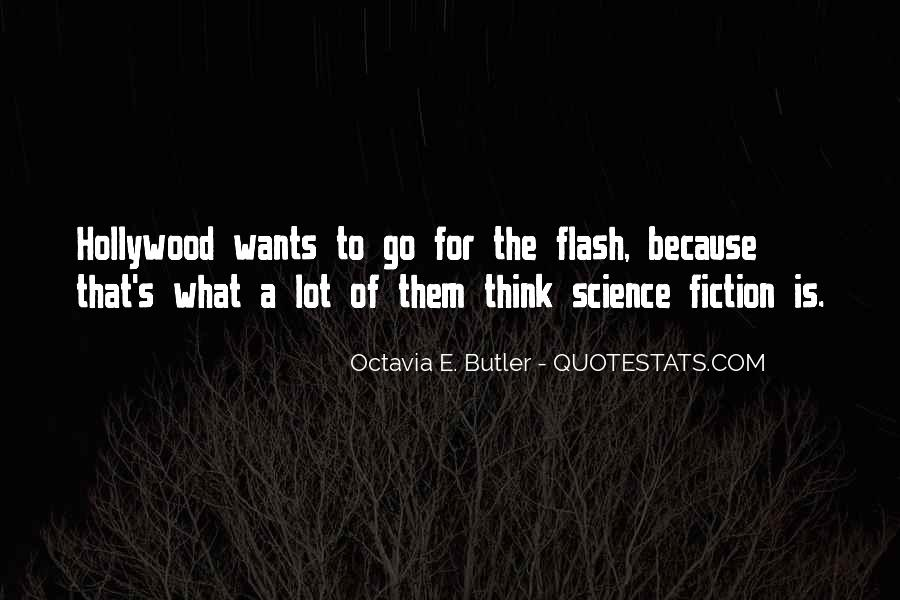Quotes About Flash Fiction #581797