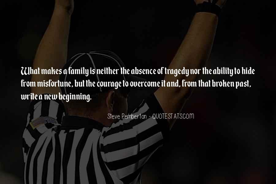 Quotes About Broken Family Relationships #1843052