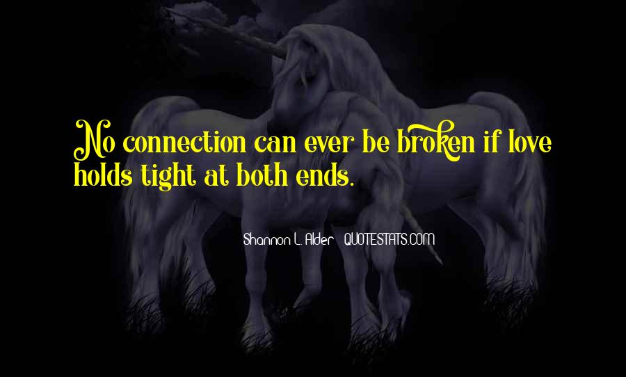 Quotes About Broken Family Relationships #27917