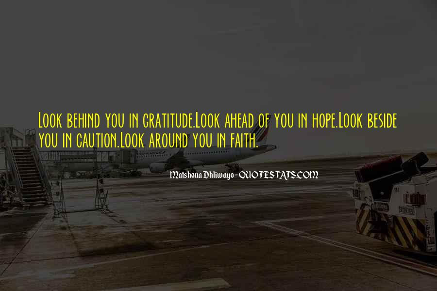 Quotes About Looking Ahead In Life #186389