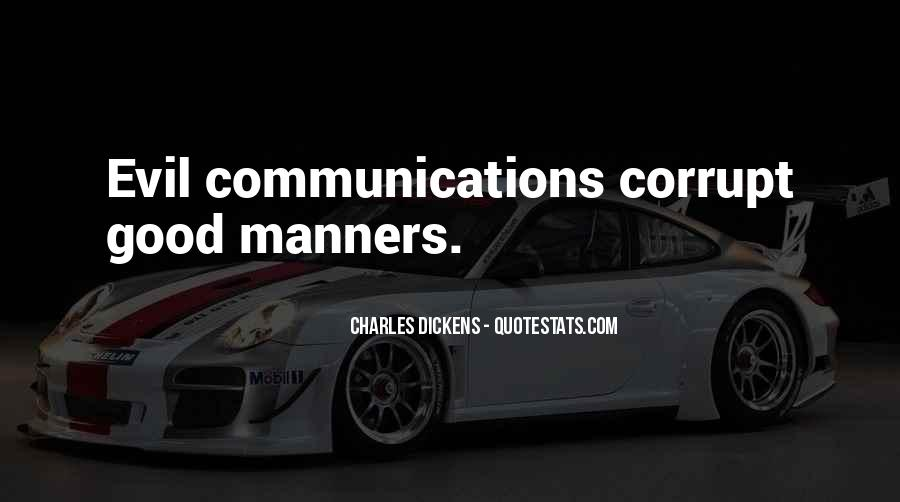 Quotes About Courtesy Manners #617879