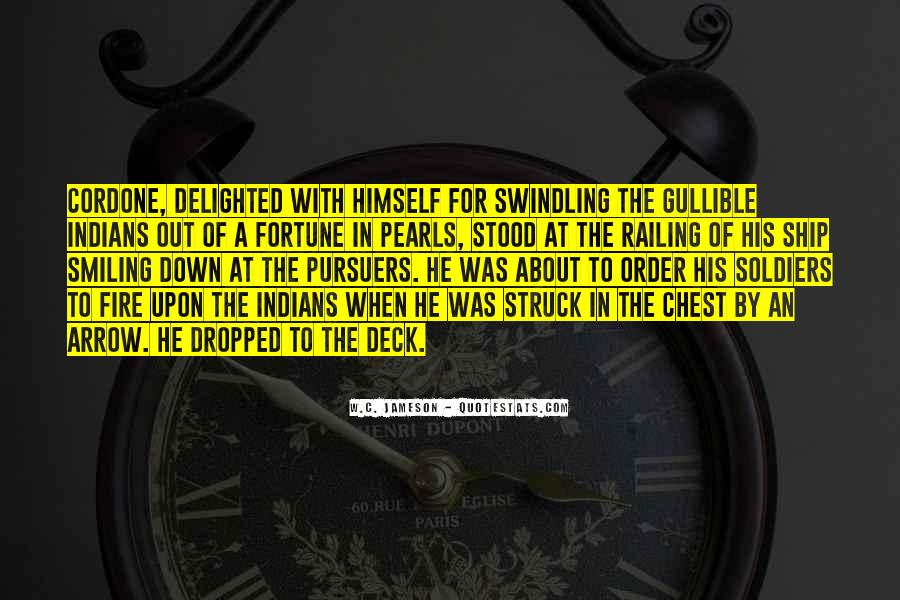 Quotes About Swindling #1628584