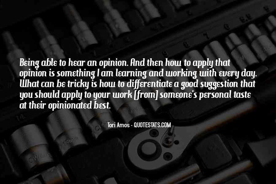 Quotes About Being Good #14021