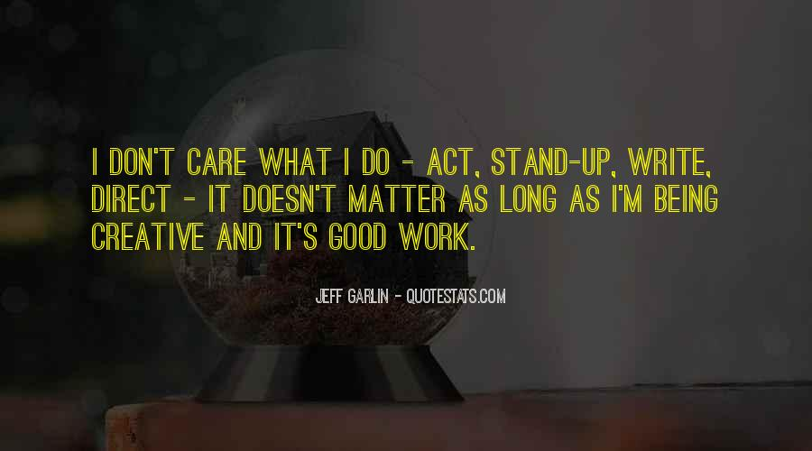 Quotes About Being Good #18008