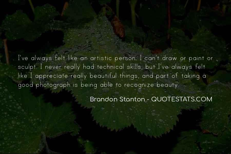 Quotes About Being Good #18557