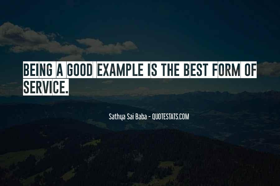 Quotes About Being Good #18683