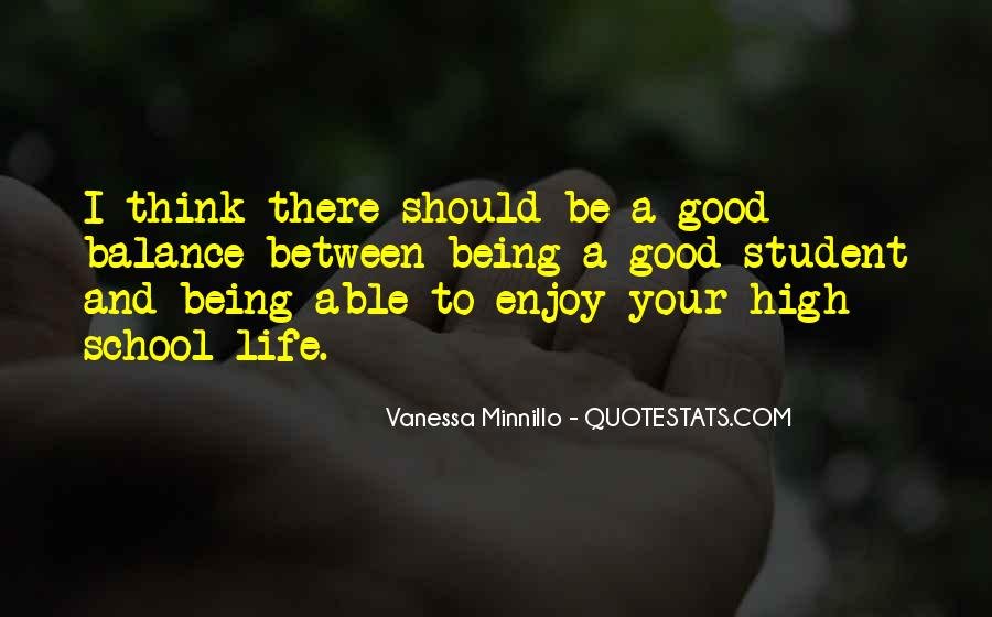 Quotes About Being Good #18844