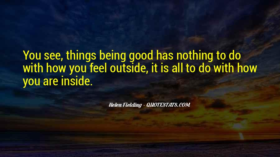 Quotes About Being Good #28102