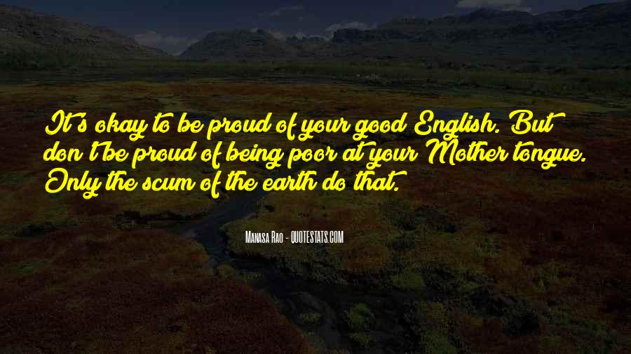 Quotes About Being Good #32094