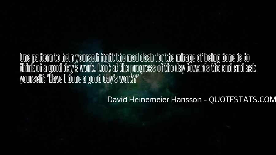Quotes About Being Good #38471