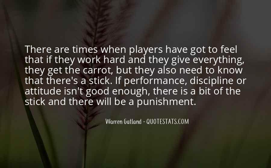 Quotes About Discipline And Punishment #1224050