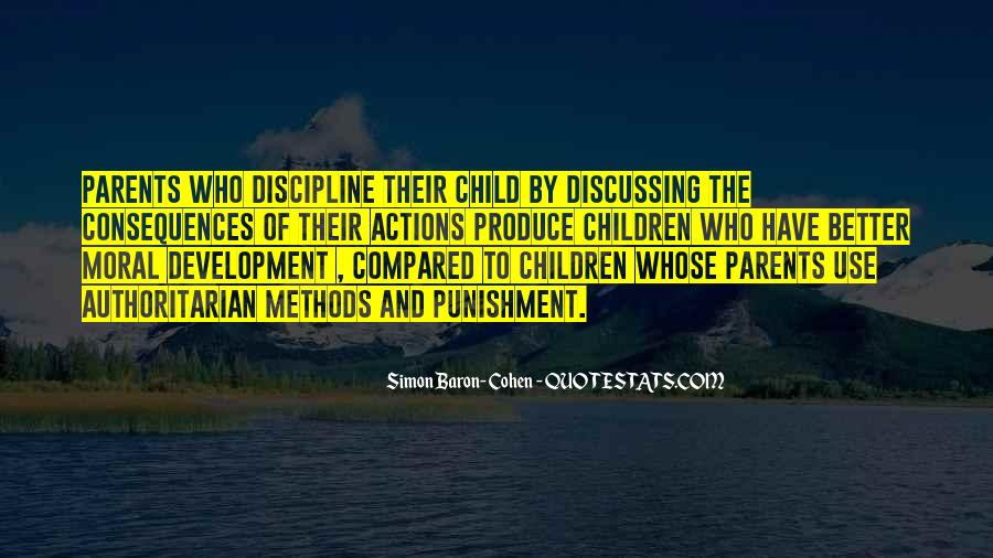 Quotes About Discipline And Punishment #1331711