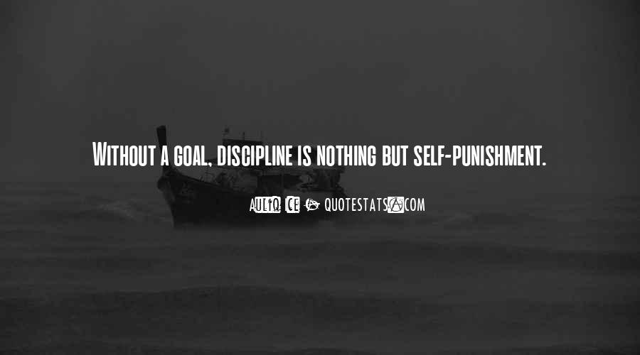 Quotes About Discipline And Punishment #379332