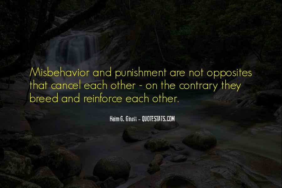 Quotes About Discipline And Punishment #6153