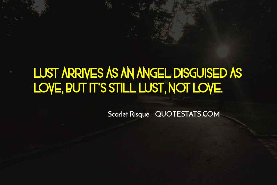 Quotes About Lust Love #154101