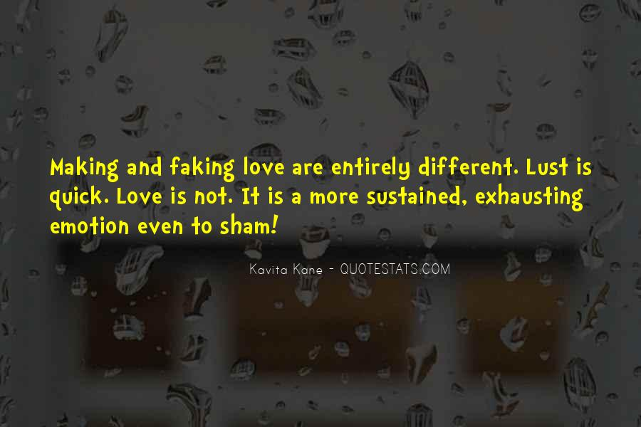 Quotes About Lust Love #219891