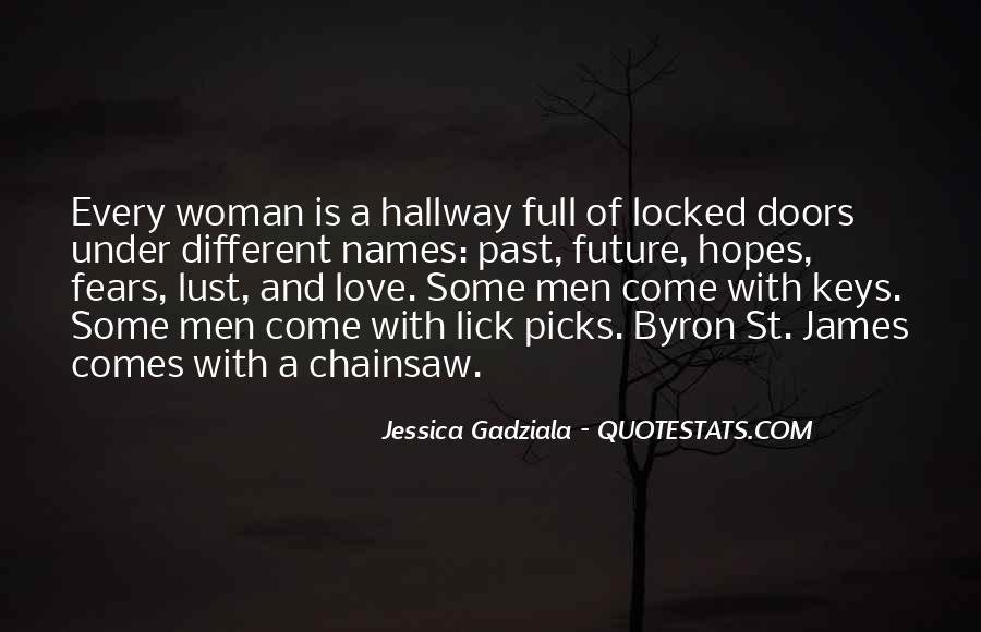 Quotes About Lust Love #256998
