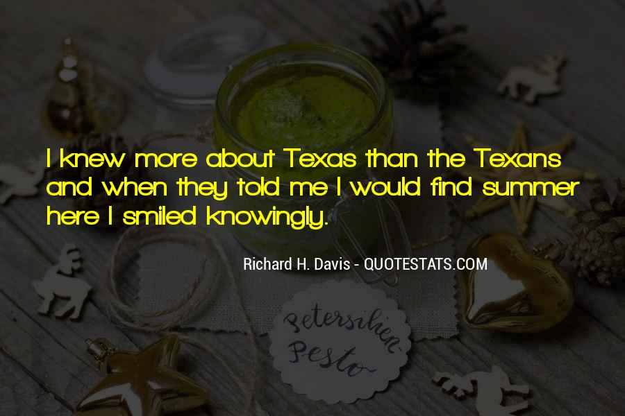 Quotes About Texans