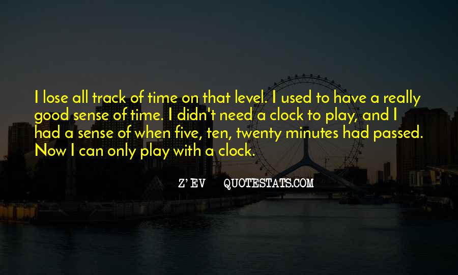 Quotes About Time Clock #157451