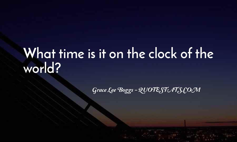 Quotes About Time Clock #293978