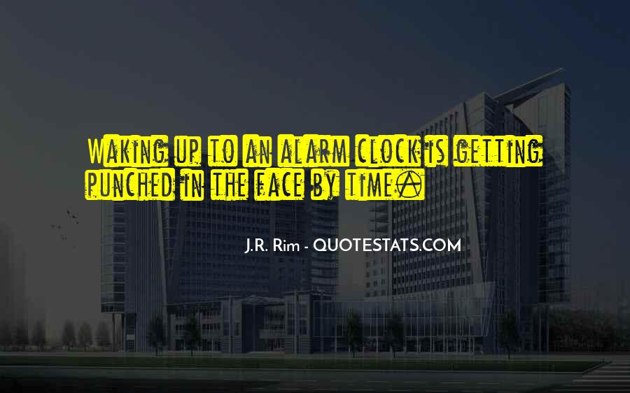 Quotes About Time Clock #378975
