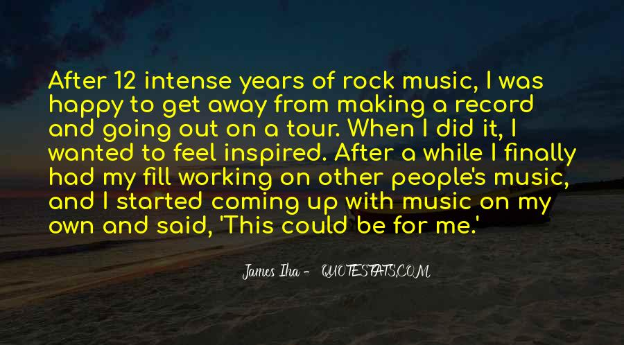 Quotes About Music Making You Happy #952171