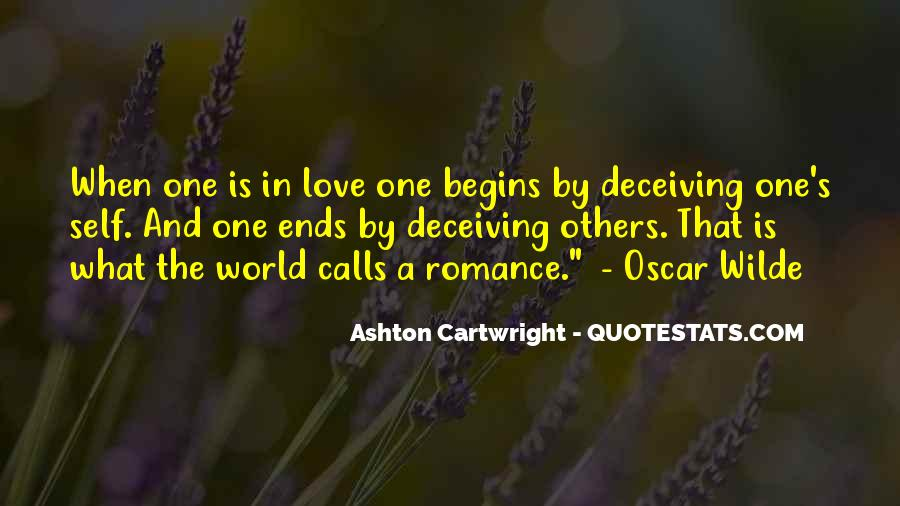 Quotes About Deceiving The One You Love #1637235
