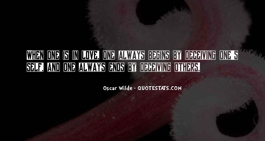 Quotes About Deceiving The One You Love #602136