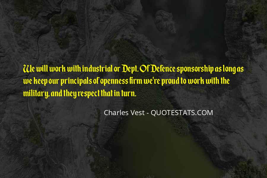 Quotes About Sponsorship #1768150