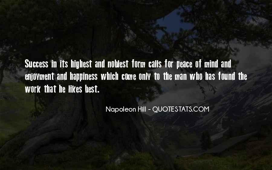 Top 76 Quotes About Happiness And Peace Of Mind: Famous ...