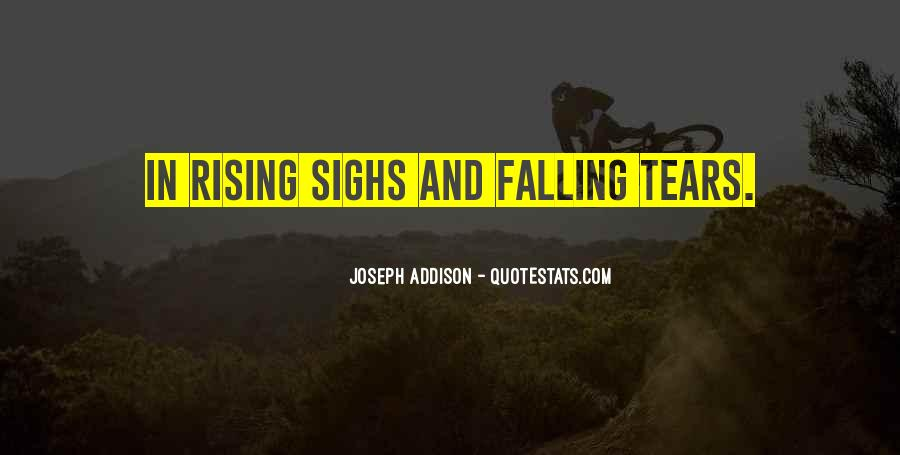 Quotes About Rising And Falling #270526
