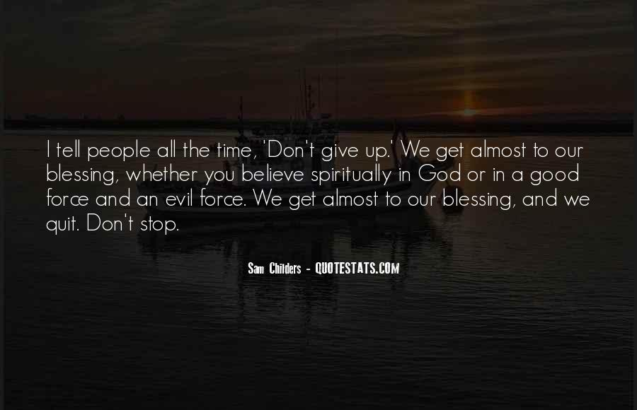 Quotes About God Blessing You #105368