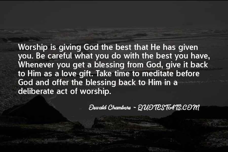 Quotes About God Blessing You #1137390