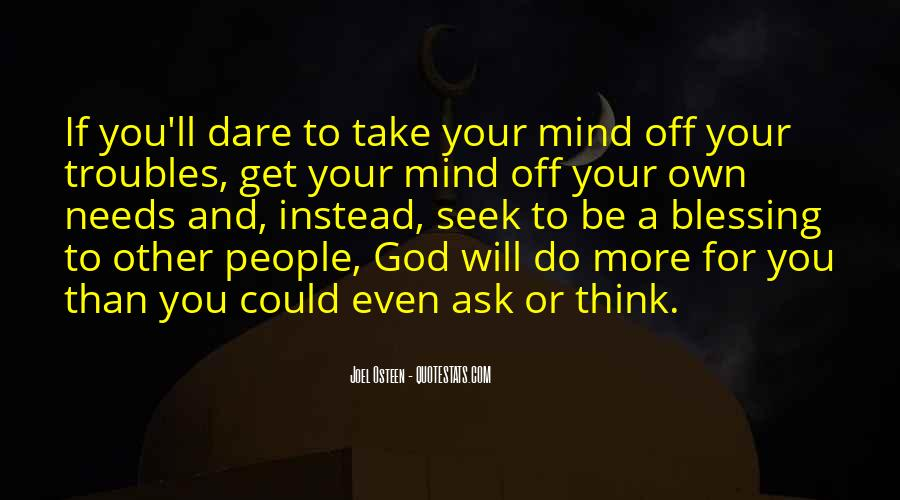 Quotes About God Blessing You #1186099