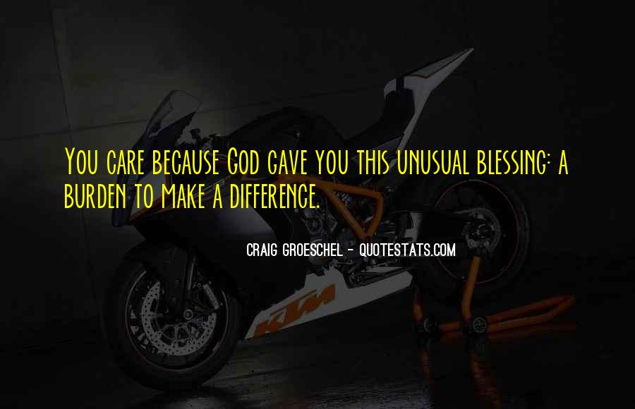 Quotes About God Blessing You #1200599