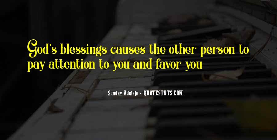 Quotes About God Blessing You #187579