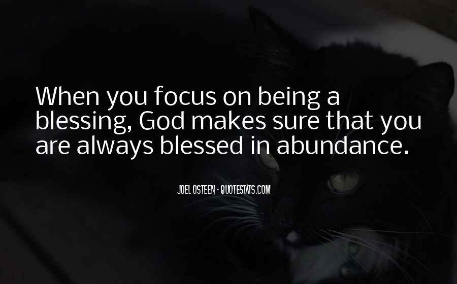 Quotes About God Blessing You #212244