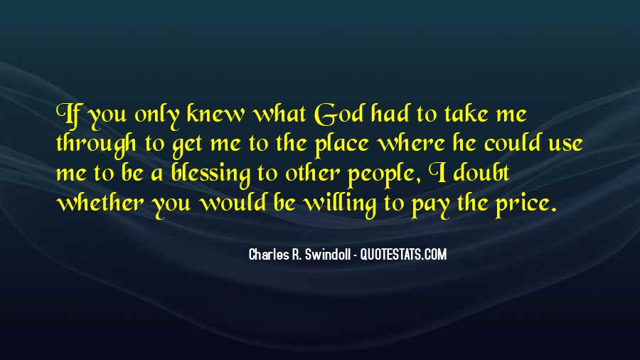 Quotes About God Blessing You #289789