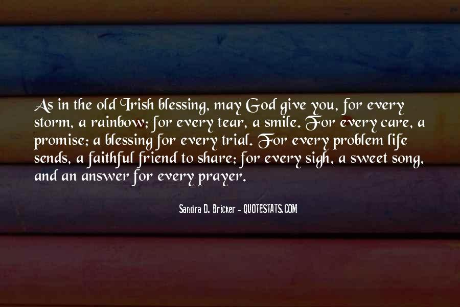 Quotes About God Blessing You #300868