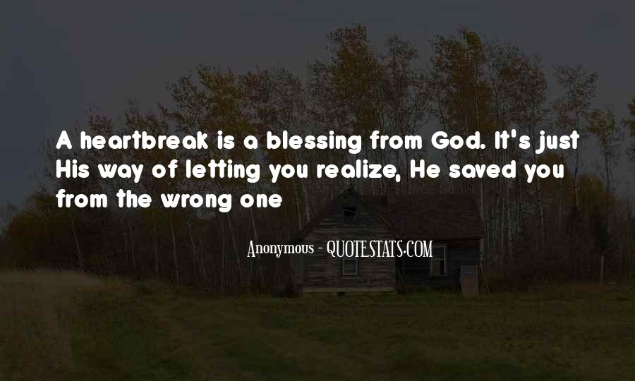 Quotes About God Blessing You #301900